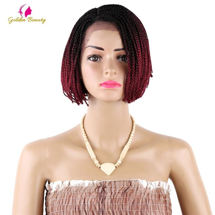 Now available in our store 16inch Braided La... Check it out here! http://midebeautyhub.myshopify.com/products/16inch-braided-lace-front-wig?utm_campaign=social_autopilot&utm_source=pin&utm_medium=pin