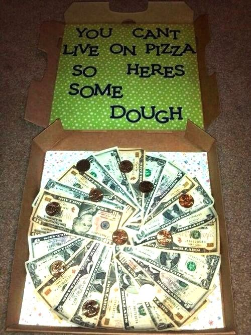 creative way to gift cash:
