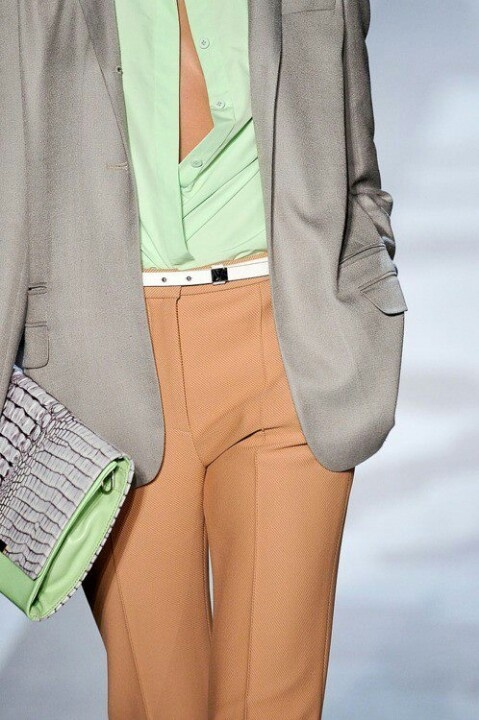 Mint and Taupe - just love