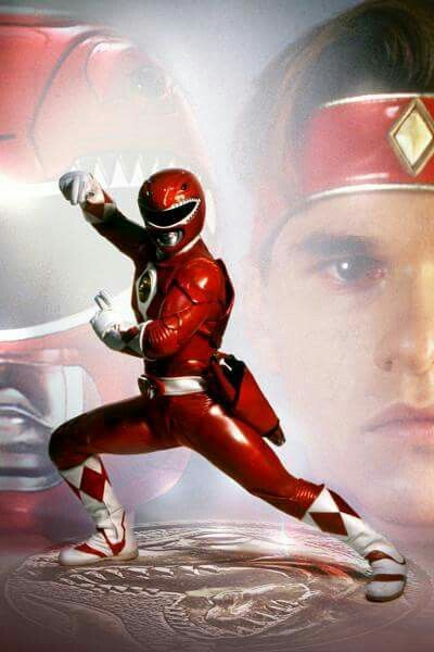 MMPR the movie (1995):Rocky Desanto the Red Ranger