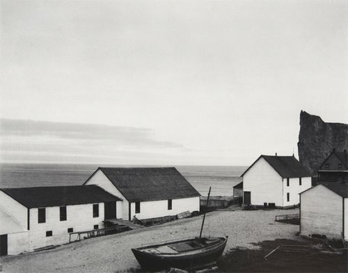 Paul Strand, Percé Village, Gaspé, Quebec, Canada 1929.
