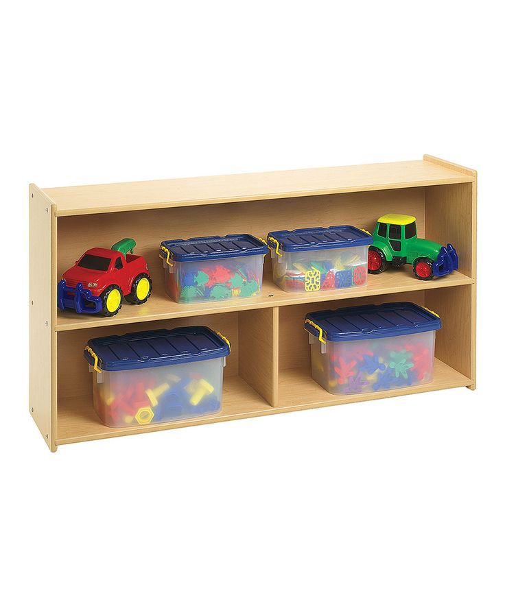 Discount School Supply   Angeles Value Line™ Preschool Divided Shelf Storage