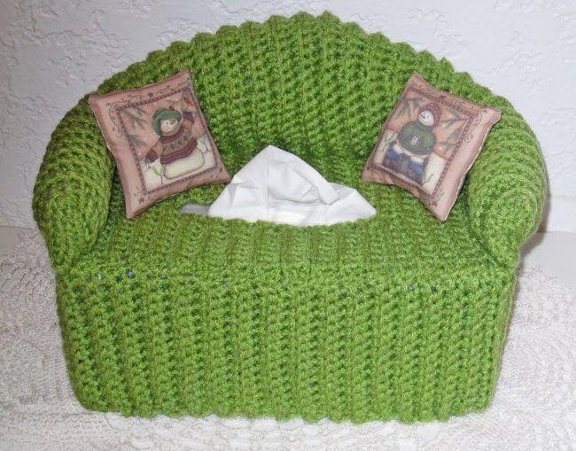 The 361 Best Crochet Tissue Boxs Images On Pinterest Tissue