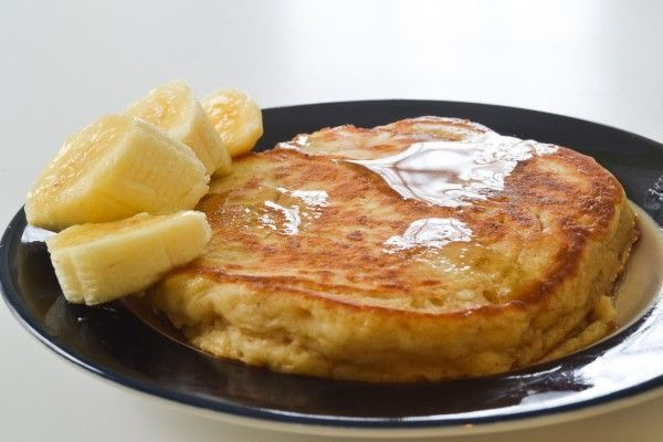 Multigrain pancakes from Forks Over Knives