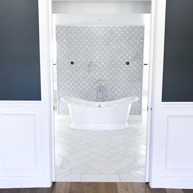 bathroom backsplash tile marseille white marble wall and floor tile