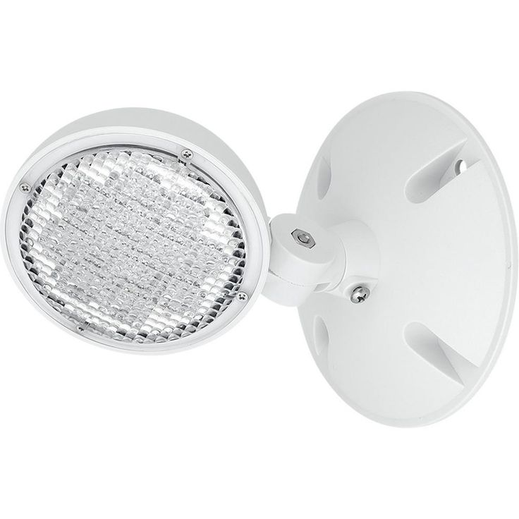 Progress Lighting Perhc Collection 1-Watt White Integrated LED Emergency Light