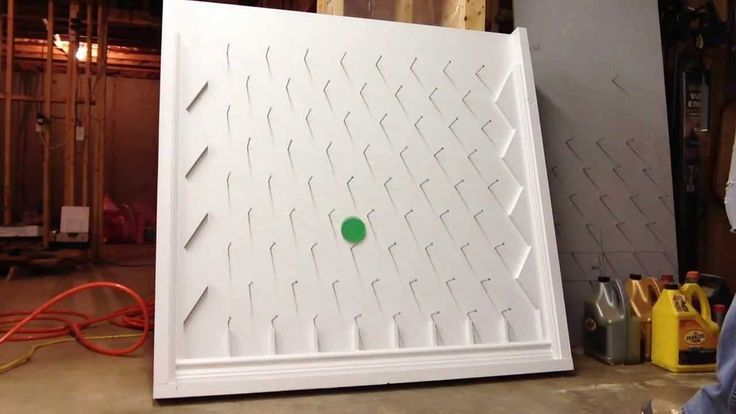 DIY Plinko Game Board: instruction is in the comment under video