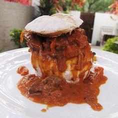 Portuguese Peri Peri Chicken Livers .... delish served on a bun