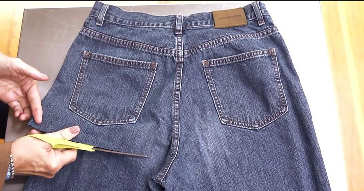 A pair of blue jeans is one of the most durable articles of clothing in most closets. However, this simple project extends their use beyond just pants.