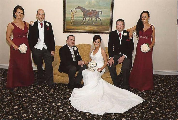 Debbie and David's wedding