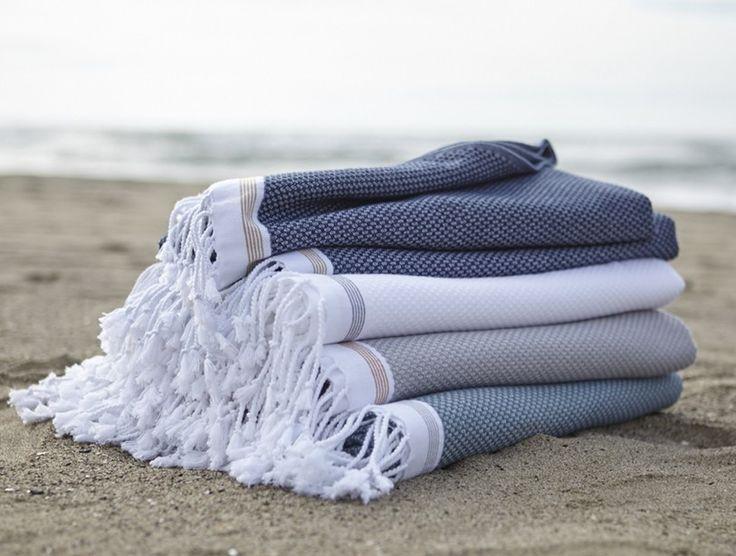 Mediterranean Bath Sheets Organic Cotton Turkish Khadi Turkish bath sheets towels linen inspiration