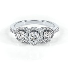 Helzberg Past Present Future Ring