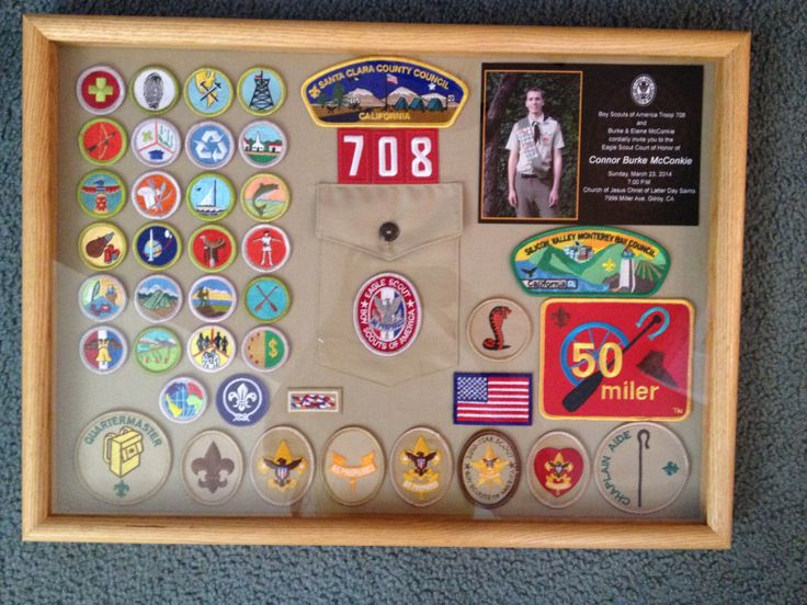 17 Best Images About Eagle Scout Shadowbox Ideas On