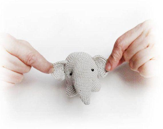 PDF elephant crochet African stuffed toy crochet toy от PetsSign, $4.95