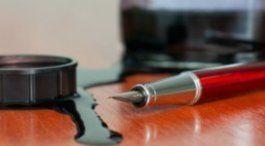 Les 25 meilleures id es de la cat gorie tache d encre sur pinterest tache encre agent - Enlever une tache d encre ...