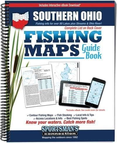 Southern Ohio Fishing Maps Guide Book