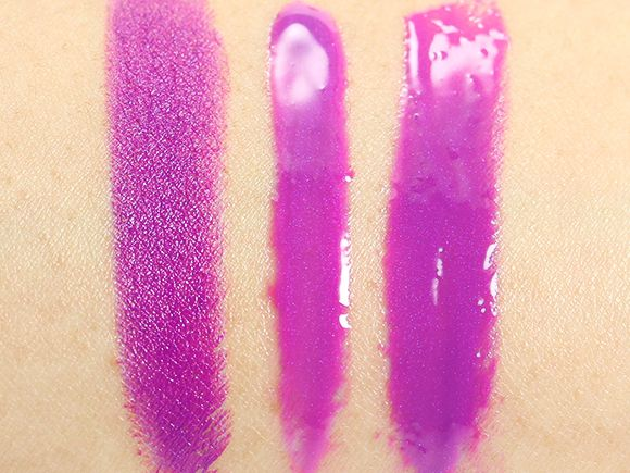MAC Heroine Lipstick and Lip Glass Review & Swatches