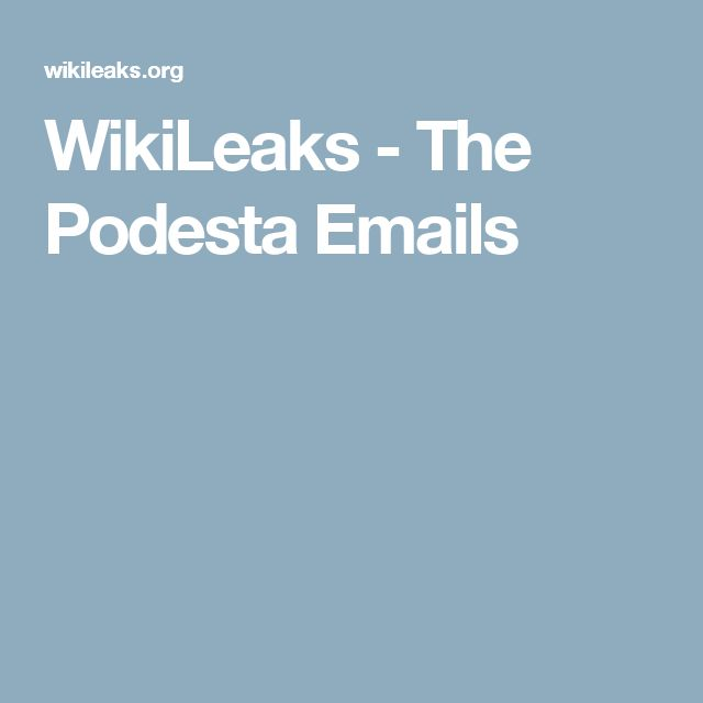 WikiLeaks -from Brent to Podesta pay to play, her brother's gold mine- The Podesta Emails