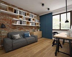 Mieszkanie - 85 m2 - Gabinet, styl skandynawski - zdjęcie od BIG IDEA studio projektowe