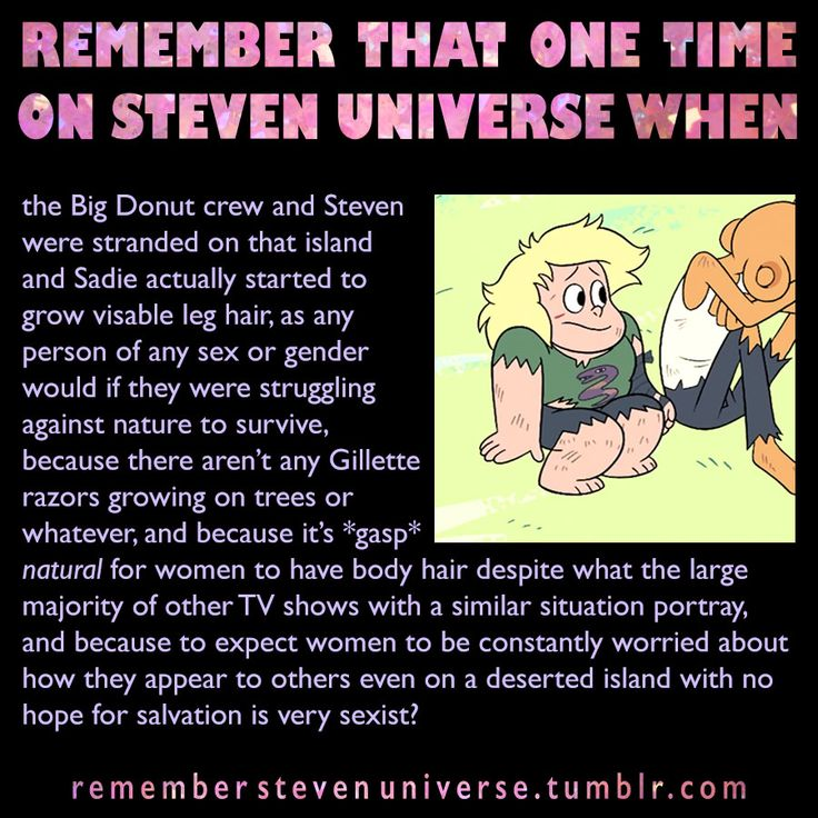 Steven Universe < reason why Sadie is one of the best characters ever!! She's not a size two, and she's not afraid to have stubby legs!!