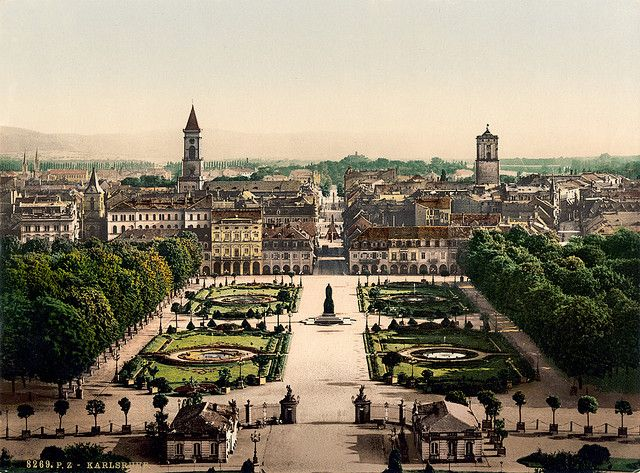 Karlsruhe Germany. Where I lived for awhile. I would like to go back and visit.