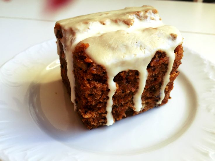 Moist and delicious! Gluten-free, vegan Carrot Cake!!