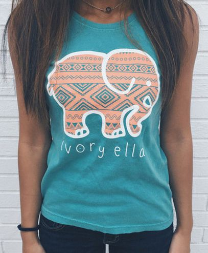 Sleeveless Sport Women T-shirt Printed Elephant. Your's is here: https://ecolo-luca.com/collections/tshirt/products/sleeveless-sport-women-t-shirt-printed-elephant?variant=21360025667