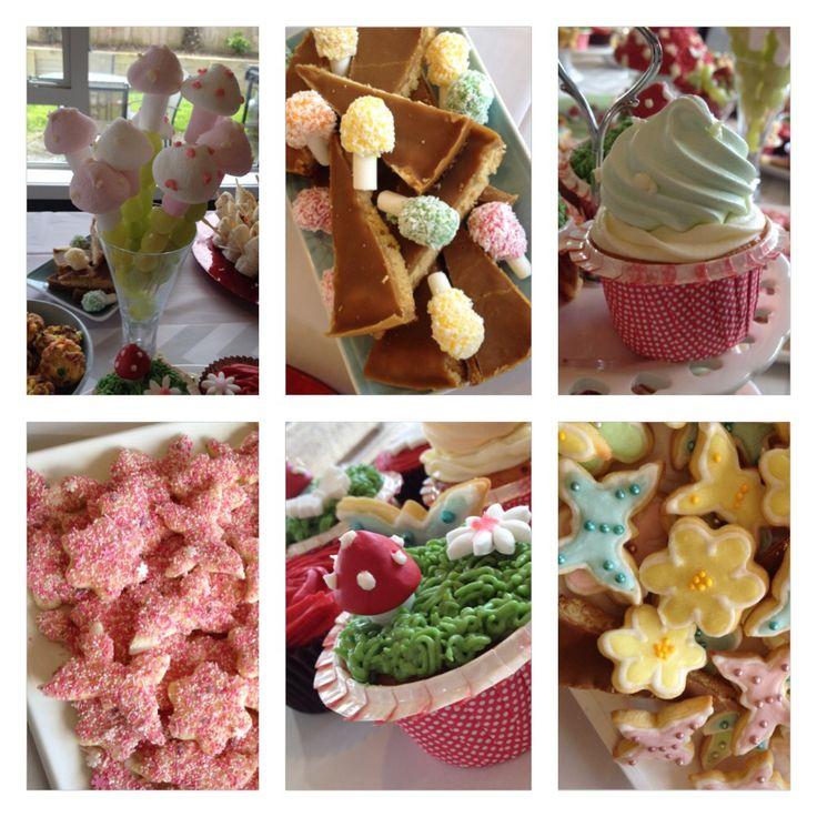 Fairy tea party food