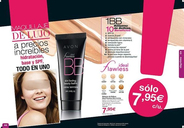 El Balsamo de Belleza Ideal Flawless de Avon