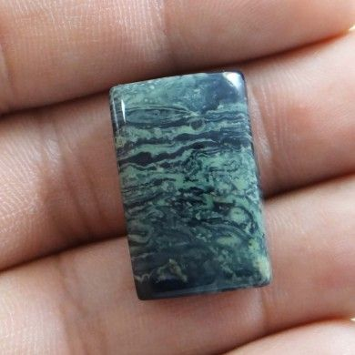 28.05Cts 100% Natural Kambaba Jasper Stone Baguette Untreated Madagascar Gemstone