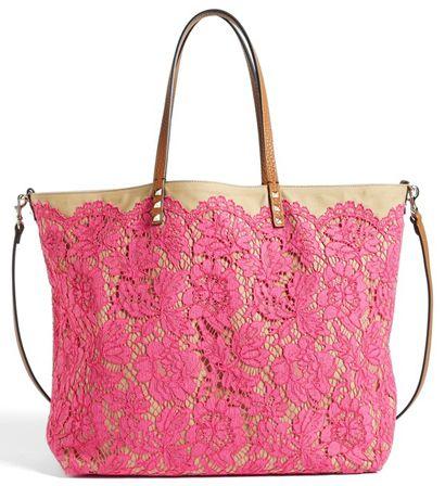 Valentino <3 Lace Pink handbag!