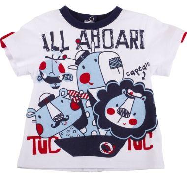 Camiseta m/c all aboard, para nino - tuc tuc