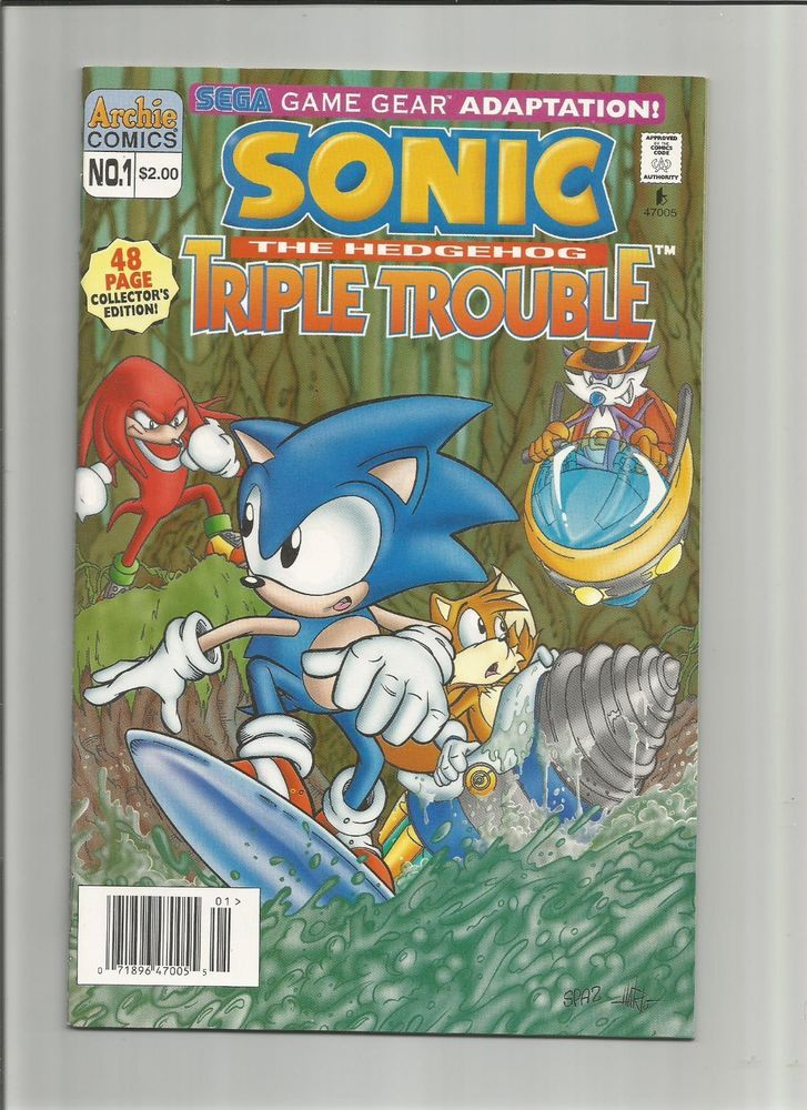 Sonic The Hedgehog Triple Trouble 1 Archie Comics Sonic The