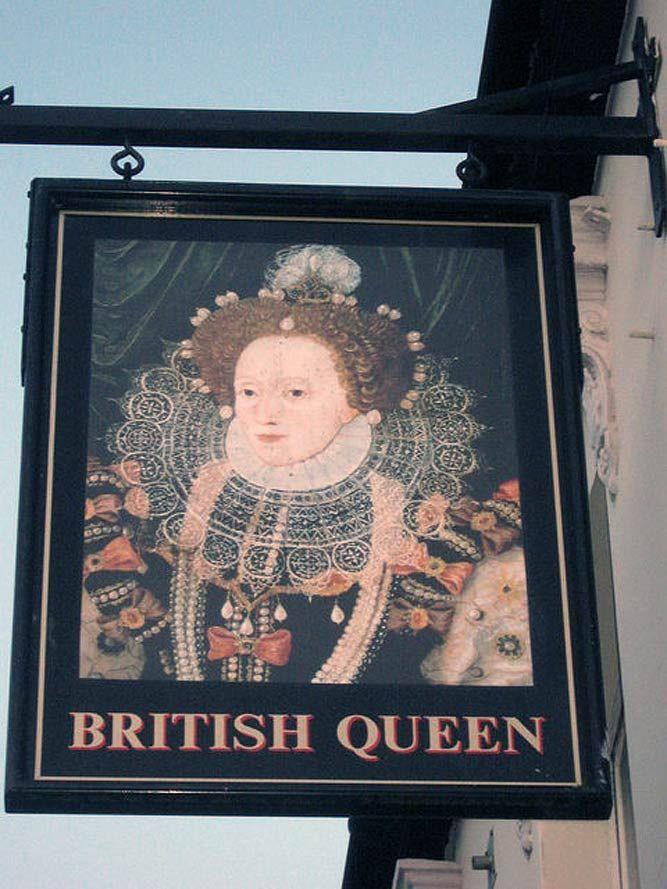 10 Unique British Pub Signs