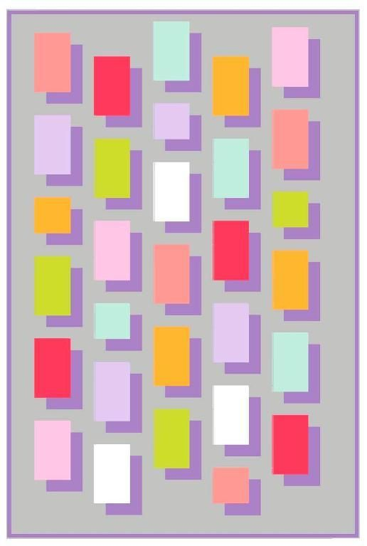 54 best Shadow quilts images on Pinterest | Architecture, Boxing ... : shadowed daisy quilt pattern free - Adamdwight.com