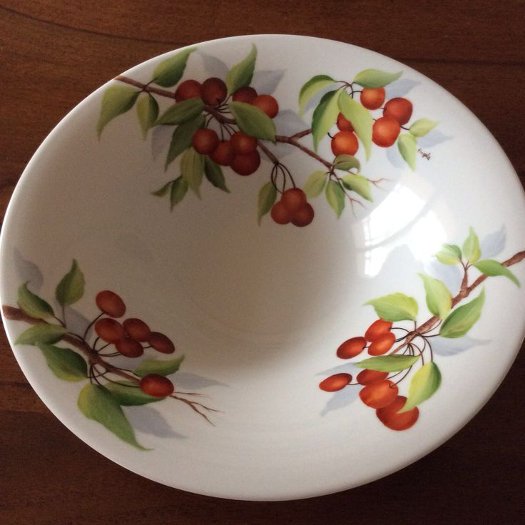 Cherry fruit bowl by Angela Davies