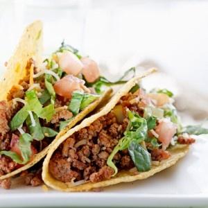 Hungry Girl's Mega-Meaty Meatless Tacos Recipe & Chicken Fingers Swap: Recipes Chicken, Tacos Recipes, Meatless Tacos, Food, Healthy Eating, Beef Tacos, Chicken Fingers, Healthy Recipes, Recipe Chicken