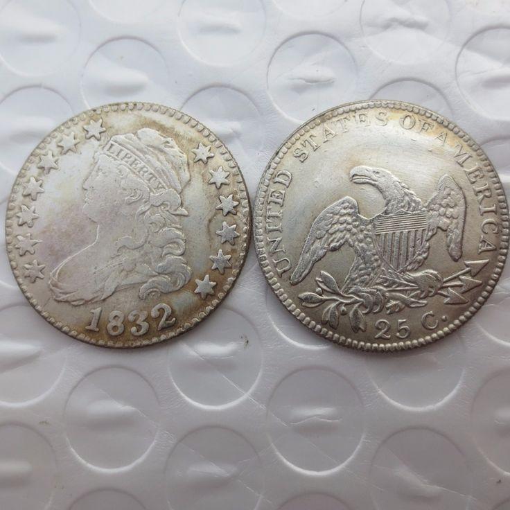 U.S 1832 Capped Bust Quarter Dollar coins