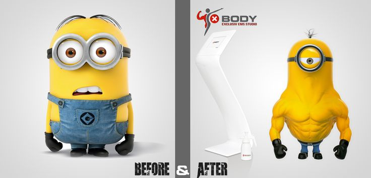 Before and After XBody Iasi EMS Fitness