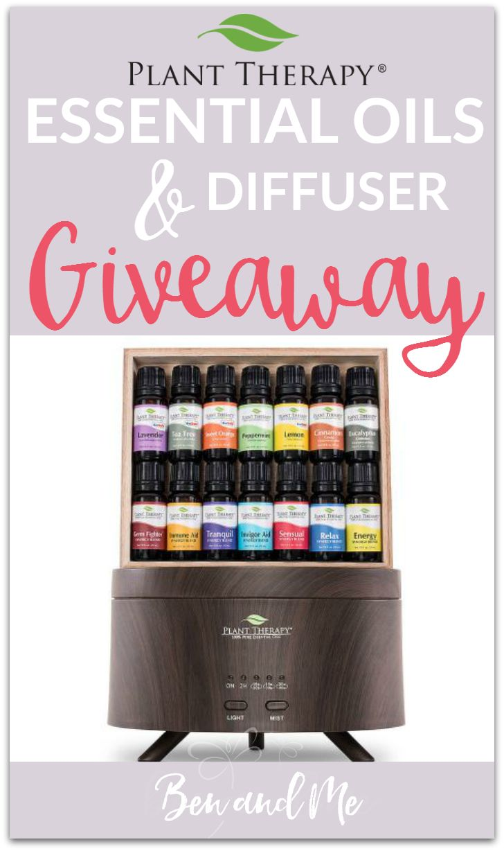 Plant Therapy 7&7 AromaFuse Gift Set Essential Oils and Diffuser Giveaway