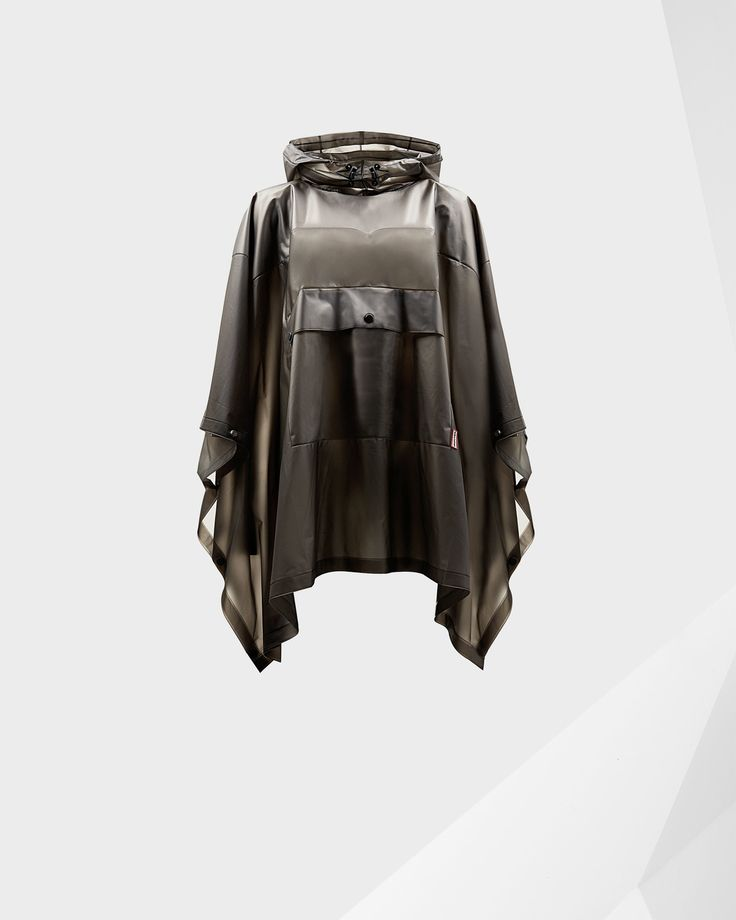 A soft and lightweight and completely waterproof poncho.