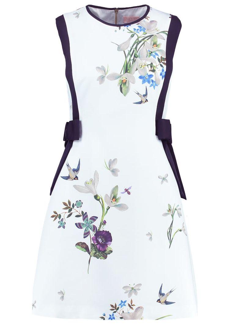 Premium Ted Baker SIPNELA  - Korte jurk - light green munt: € 239,95 Bij Zalando (op 16-3-17). Gratis bezorging & retournering, snelle levering en veilig betalen!