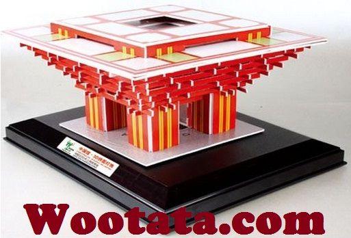 Jual Mainan Puzzle 3d China Pavilion