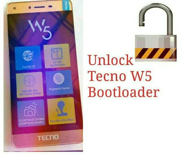 How to Unlock Tecno W5 Bootloader