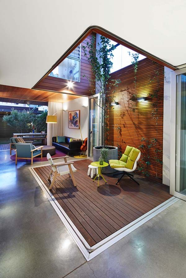 Exceptional Aussie terrace house with indoor-outdoor interplay