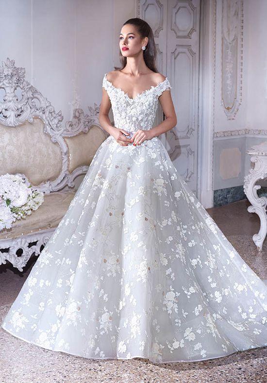 Platinum By Demetrios Dp385 Belle Ball Gown Wedding Dress