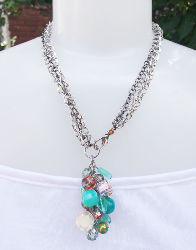 Love this #necklace you can wear it long or short.