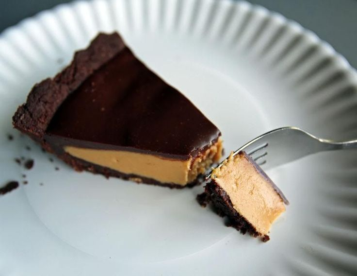 Alton Brown's Peanut Butter Chocolate Pie Recipe: In a pinch…and I mean a real pinch, you can use freshly ground honey-roasted peanut butter from a store or market where the grinding is done on site. Most Whole Foods have those these days, as do many health food stores and co-ops. Get the recipe on altonbrown.com.