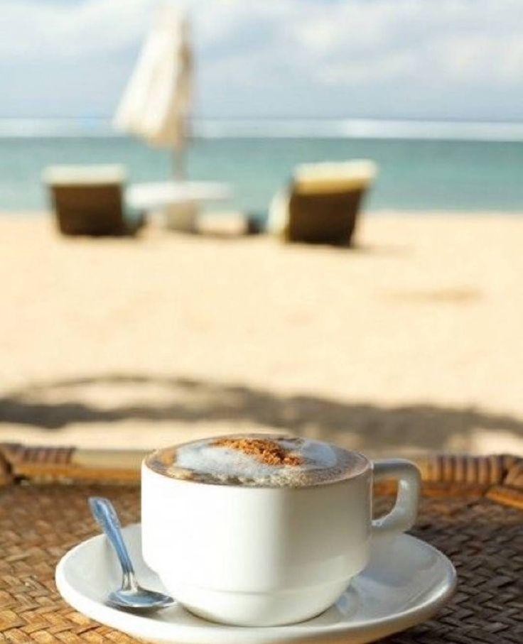 Картинки с морем и пляжем доброе утро, картинки про