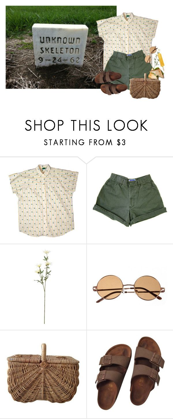 """eyes bright, uptight, just girls."" by the-cheap-bouquet ❤ liked on Polyvore featuring Birkenstock"